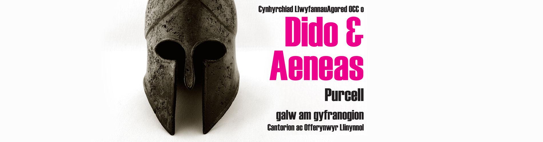 Cynhyrchiad LlwyfannauAgored OCC o Dido & Aeneas Purcell - galw am gyfranogion Cantorion ac Offerynwyr Llinynnol